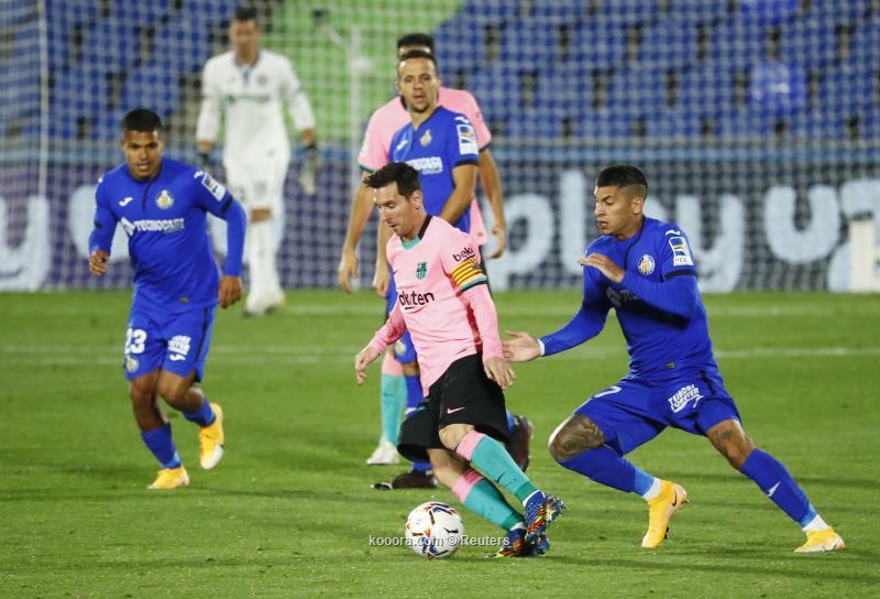 برشلونة يخسر امام خيتافي في الدوري الاسباني