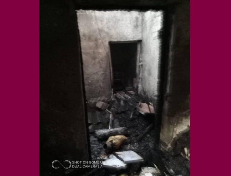 عدن.. حريق يلتهم أحد المنازل في دار سعد