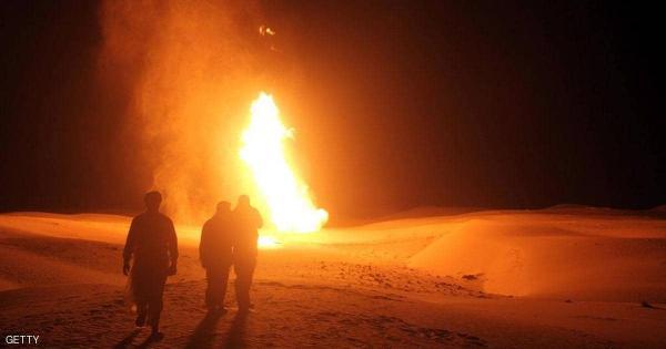 مسلحون يفجرون أنبوب الغاز الرئيسي المغذي لمدينة العريش في مصر
