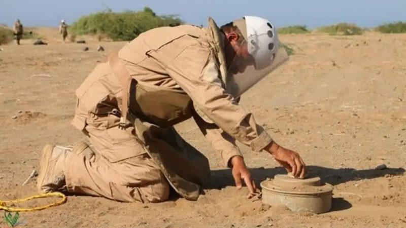 مسام ينتزع 2500 لغم وذخيرة غير منفجرة خلال الأسبوع الثالث من مايو