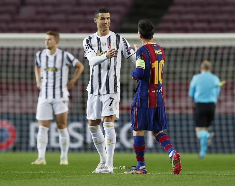 رونالدو يقود يوفنتوس لفوز كبير على برشلونة واقتناص الصدارة