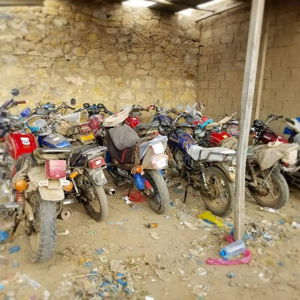 الحملة الأمنية في تعز تقبض على شبكة سرقة دراجات نارية