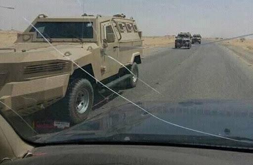 إنفجار عنيف بالقرب من مقر اللجنة السعودية في أبين وأنباء عن مغادرة اللجنة إلى عدن