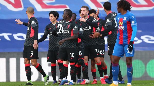 ليفربول يقسو على كريستال بالاس في افتتاح المرحلة 14 من الدوري الإنكليزي