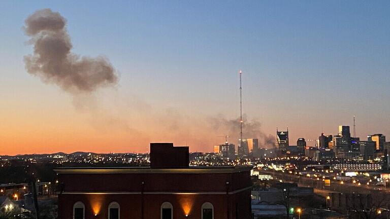 تفجير مدينة ناشفيل الأمريكية.. الأمن يحدد هوية شخص على صلة بالتفجير