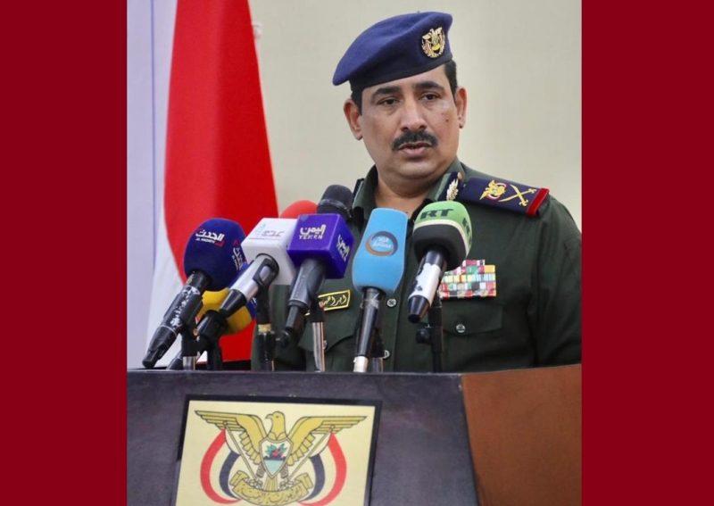 """وزير الداخلية """"حيدان"""" يكشف الاطراف المتورطة في استهداف مطار عدن الدولي"""