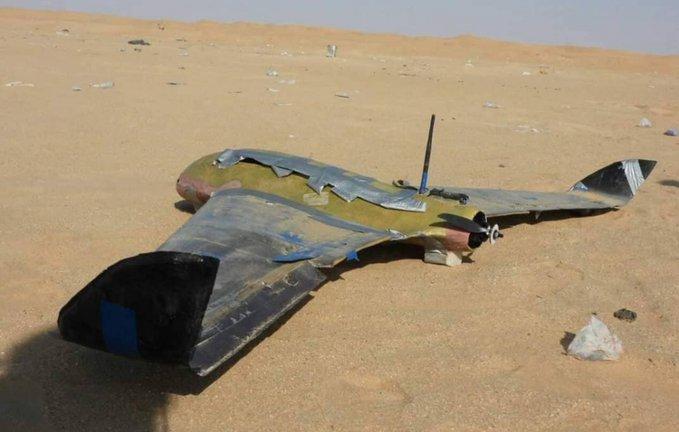 كانت تحمل قنابل شديدة الانفجار.. القوات المشتركة تسقط طائرة حوثية مفخخة جنوب الحديدة
