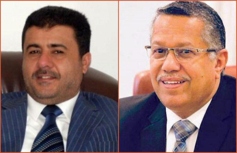 """رئيس الائتلاف الوطني الجنوبي """"العيسي"""" يهنئ بن دغر بتعيينه رئيساً لمجلس الشورى"""
