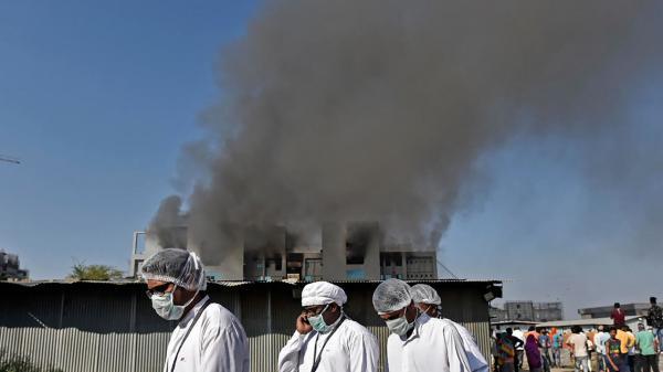 إندلاع حريق في أكبر مصنع للقاحات في العالم غرب الهند ومقتل 5 أشخاص