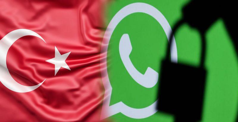 """تركيا تطلب وثائق ومعلومات من شركة """"واتساب"""" ضمن تحقيق حول """"الخصوصية"""""""