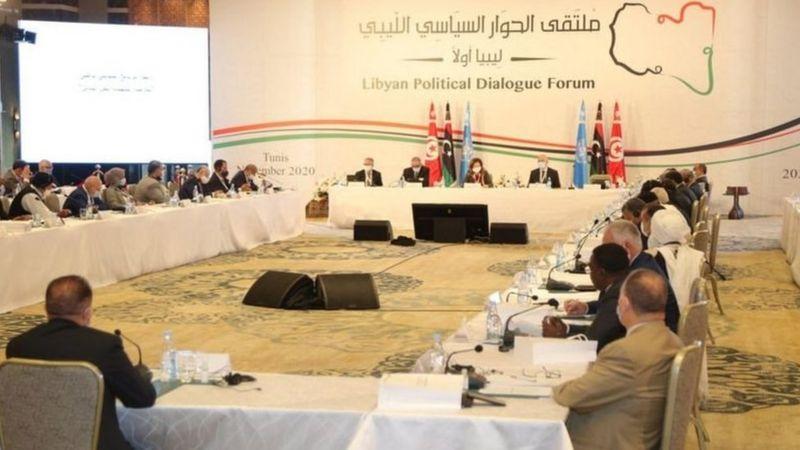 تشكيل حكومة وحدة وطنية مؤقتة في ليبيا برئاسة عبد الحميد دبيبه
