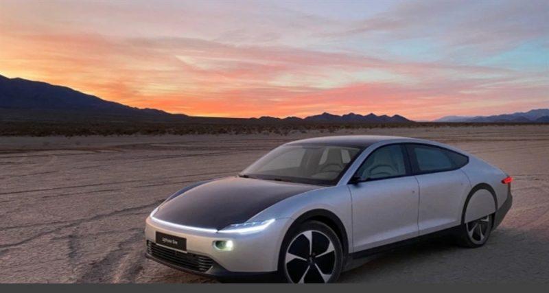 شركة سيارات تعلن عن أول سيارة كهربائية ذاتية الشحن