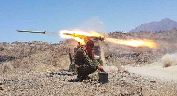 محور تعز يؤكد استمرار المعارك حتى تحقيق الأهداف واستكمال التحرير