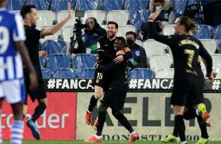 بسداسية ثقيلة.. برشلونة يسحق ريال سوسيداد في عقر داره
