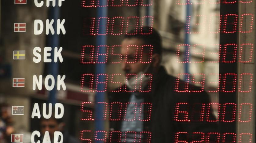 الليرة التركية تواصل تراجعها أمام الدولار الامريكي