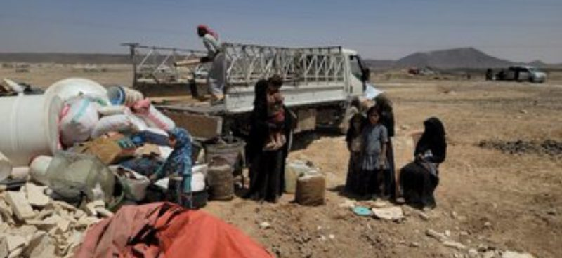 إدارة مخيمات النزوح بمأرب تكشف تسبب تصعيد المليشيا بنزوح أكثر من 18 ألف من المدنيين