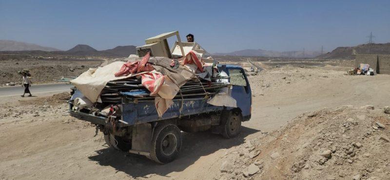 منظمة دولية تعلن نزوح أكثر من 60 ألف يمني منذ مطلع العام الجاري