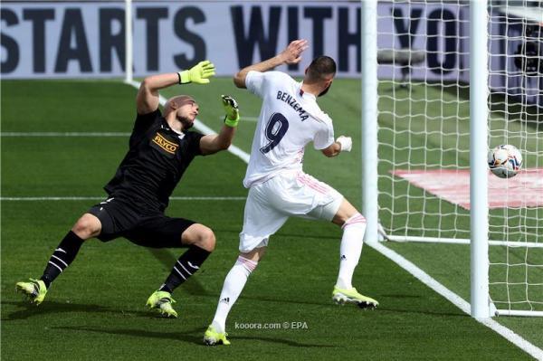 ريال مدريد ينتصر بثنائية على إيبار