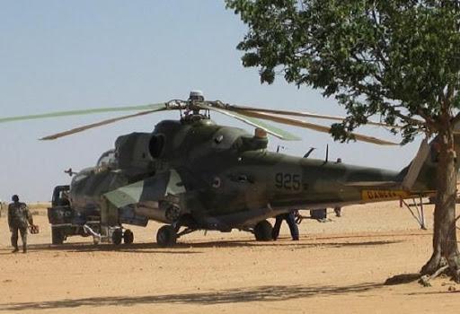سقوط طائرة هليكوبتر تابعة للجيش السوداني .. وهذا هو مصير طاقمها!