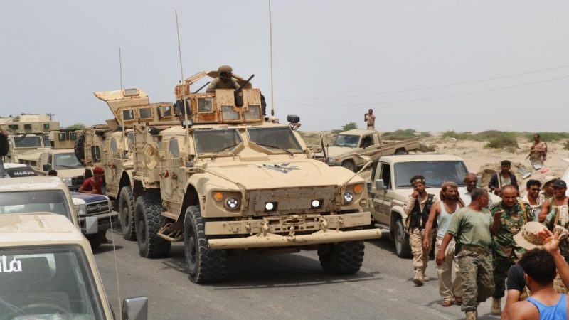 عودة التوتر بين قوات الامن الحكومية ومليشيات مسلحة تابعة لما يسمى بالمجلس الانتقالي في ابين