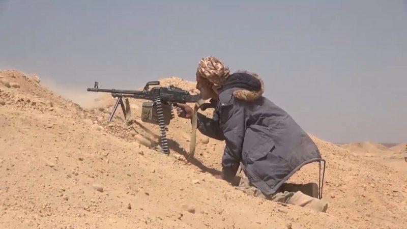 كمين محكم لقوات الجيش استهدف مجاميع من مليشيا الحوثي في مأرب