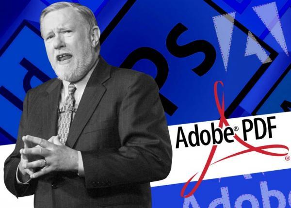 وفاة مؤسس ومطور برامج أدوبي وملفات pdf