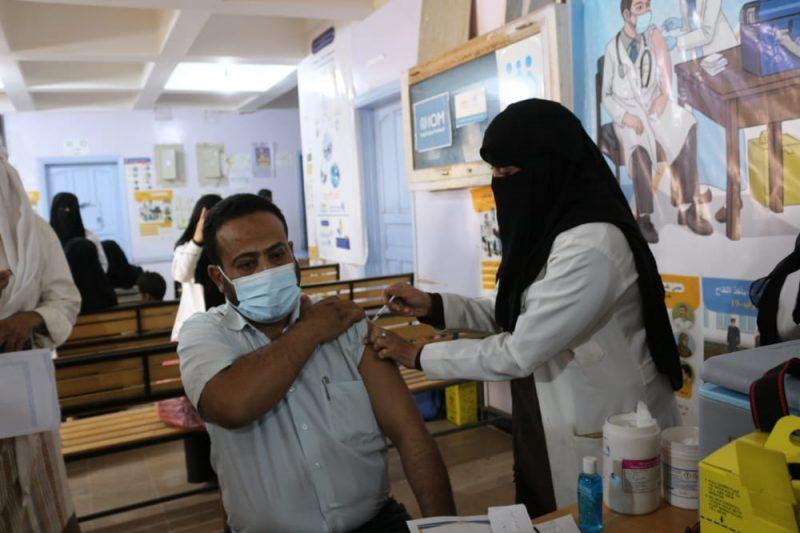مأرب تبدأ المرحلة الأولى من حملة التحصين ضد فيروس كورونا
