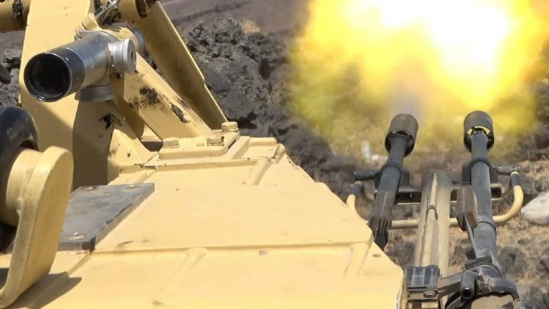 إستمرار المعارك بين قوات الجيش ومليشيا الحوثي غربي محافظة مأرب