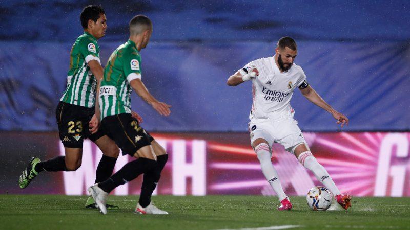 تعثر جديد لريال مدريد بالتعادل مع ريال بيتيس