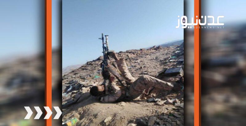 """لن تصدق.. شاهد الطريقة """"المذهلة"""" التي يستخدمها افراد الجيش الوطني في اسقاط طائرات الحوثي المسيرة (صورة)"""