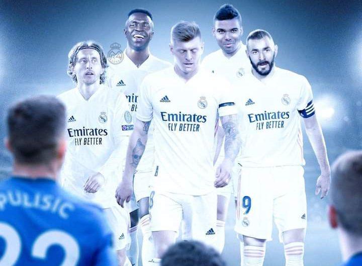 تعرف على تشكيلة ريال مدريد وتشيلسي في مباراة ذهاب نصف نهائي دوري ابطال اوروبا اليوم