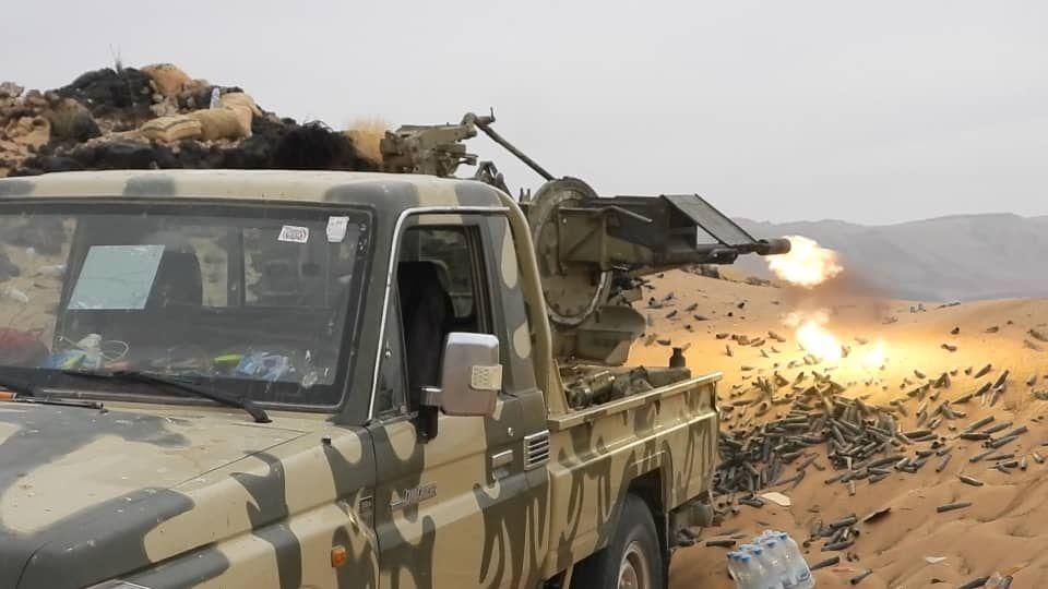 قوات الجيش تصد هجوما لمليشيا الحوثي في مأرب ومصرع عدد من عناصر المليشيا