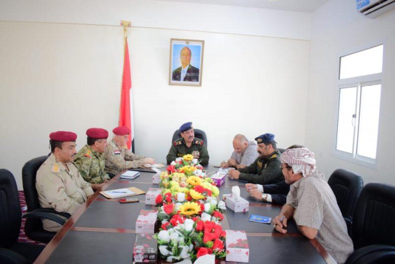 وزير الداخلية يعقد اجتماعا باللجنة الأمنية في وادي وصحراء حضرموت