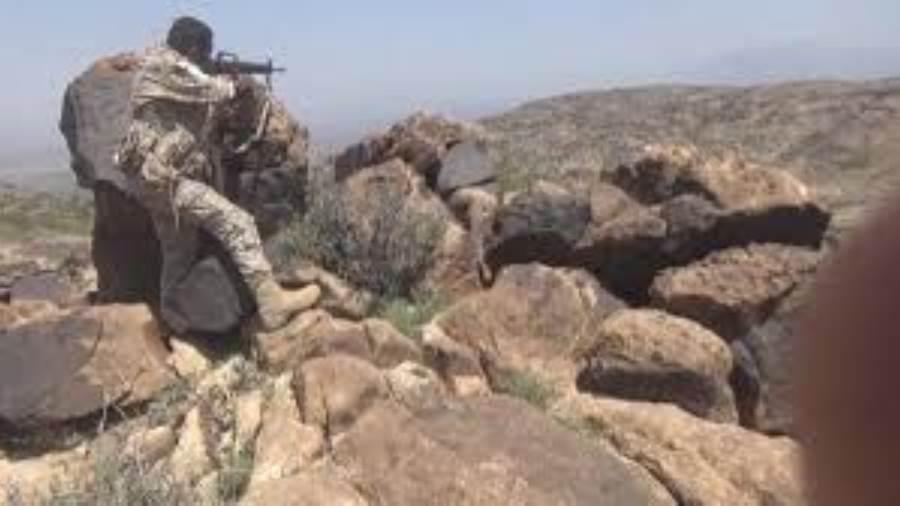 القوات المشتركة تشن هجمات على مواقع مليشيا الحوثي وتتقدم في الضالع