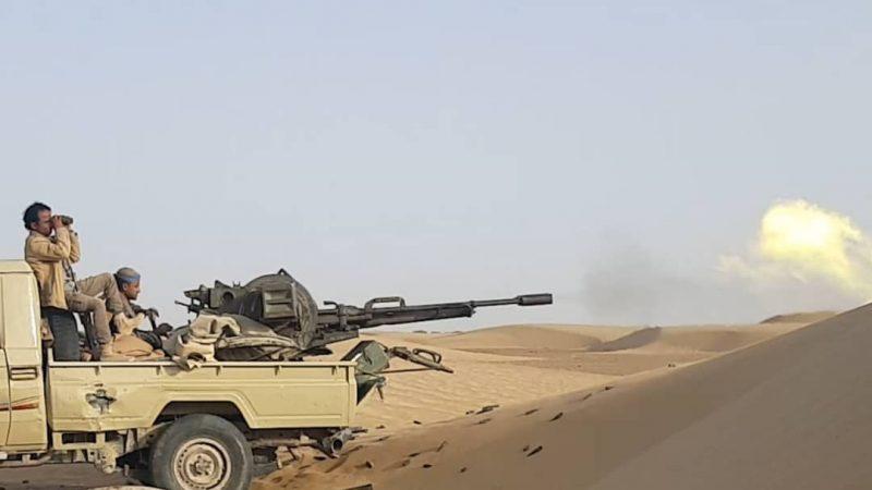 قوات الجيش تصد هجوما لمليشيا الحوثي في الجوف وتكبدها خسائر كبيرة