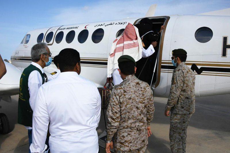 التوأم السيامي يصل الرياض