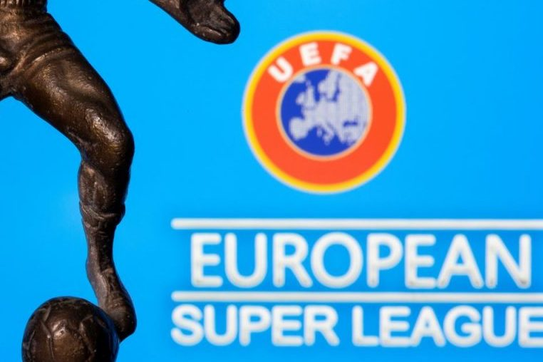 الاتحاد الاوروبي لكرة القدم يقرر معاقبة 9 أندية من أصل 12 نادي شاركوا بتدشين دوري السوبر