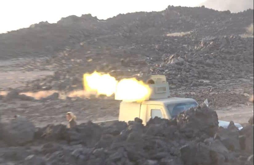 قوات الجيش تنفذ كمينا محكما غربي مأرب وتكبد المليشيا خسائر فادحة