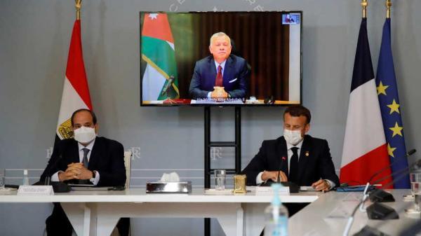 محادثات مشتركة بين مصر وفرنسا والأردن سعياً لوساطة بين إسرائيل والفلسطينيين