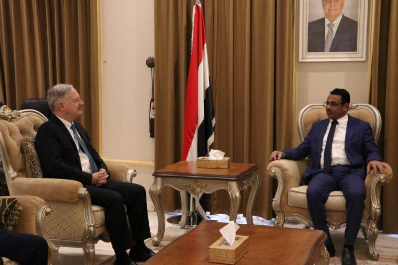 الحكومة تؤكد حرصها على تعزيز وتطوير افاق التعاون والشراكة مع الولايات المتحدة