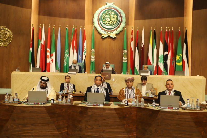 العسومي في الجلسة الطارئة للبرلمان العربي بشأن فلسطين: القضية الفلسطينية راسخة ومتجذرة في قلب كل عربي