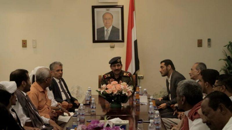 وزير الداخلية يكشف عن خطة أمنية جديدة في حضرموت