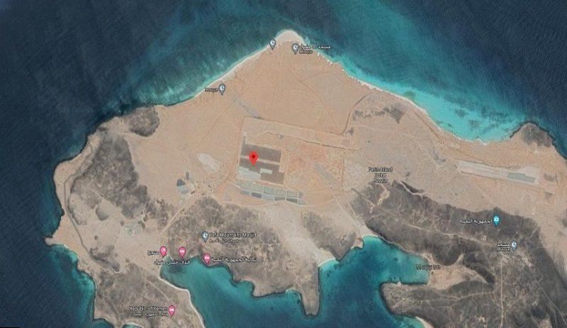 """وكالة دولية تكشف قيام الإمارات ببناء قاعدة جوية سرية في جزيرة """"ميون"""" اليمنية"""