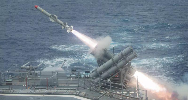 سفينة أمريكية تفشل في اعتراض صاروخ باليستي