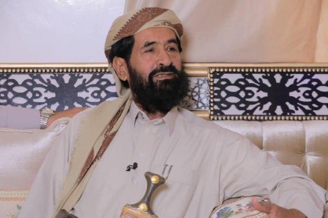 للمرة الثانية خلال اسبوع .. استهداف منزل الشيخ علي حسن بن غريب في مأرب بصاروخ باليستي