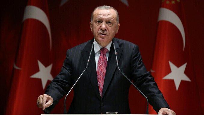 """الرئيس التركي """"أردوغان"""" يعلن إكتشاف 135 متر مكعب من الغاز الطبيعي"""