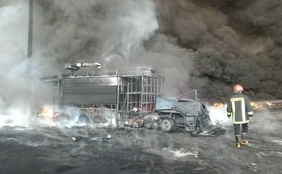 إنفجار في مصنع للصلب بإيران واندلاع حريق هائل