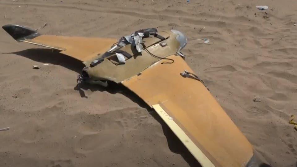 دفاعات التحالف تدمر طائرة مسيرة أطلقتها ميليشيا الحوثي باتجاه خميس مشيط