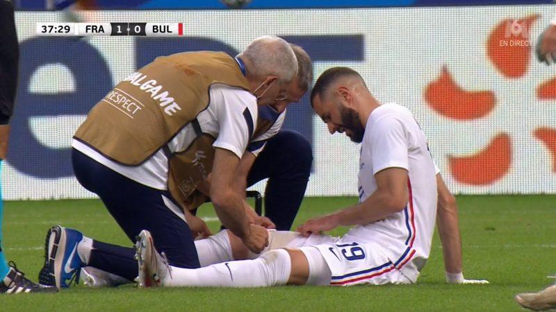 عاد بعد سنوات للمنتخب الفرنسي .. إصابة كريم بنزيما قبل أيام من انطلاق يورو 2020