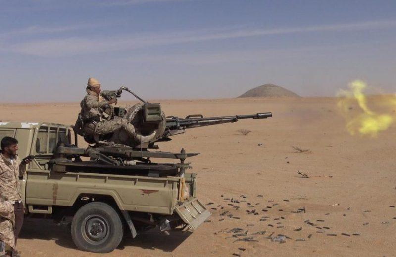 الجوف.. قوات الجيش الوطني تكسر هجوما حوثيا في جبهة الخنجر